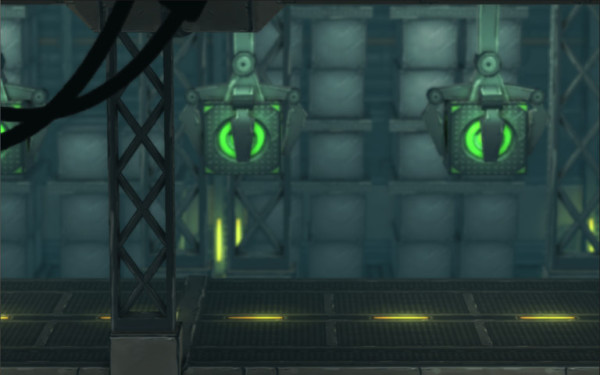 Sci-Fi Side Scroller Modular Environment
