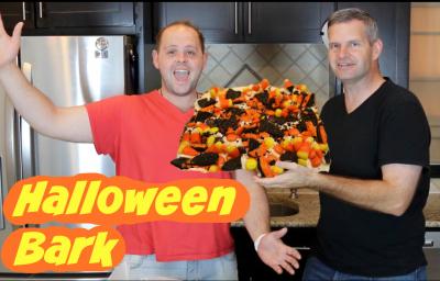 James Lamprey, FunFoodsYT, Stephen Halbhuber, collaboration, youtube, halloween, cooking, baking