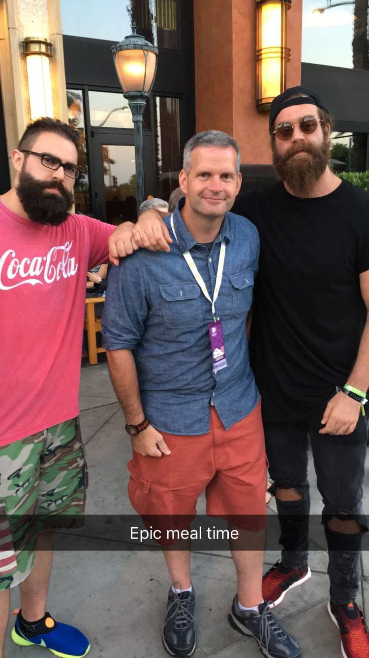 James Lamprey, FunfoodsYT, Epic Meal Time, VidCon, Cheesecake Factory