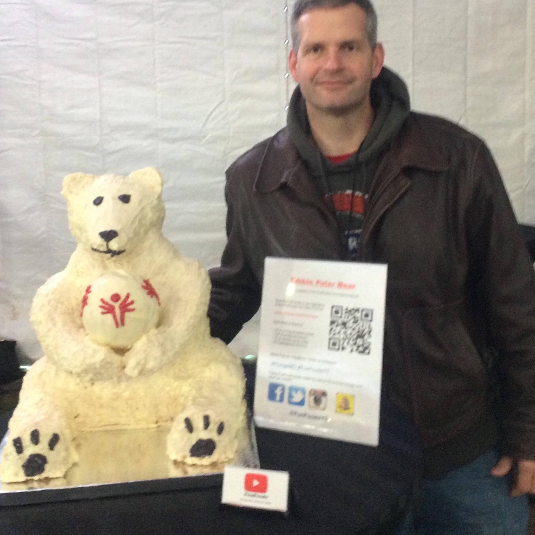 James Lamprey, FunfoodsYT, Polar Bear Challenge, charity, Special Olympics