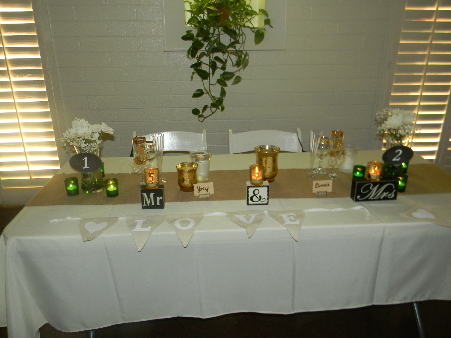 day of coordination,sweet heart table, event set up