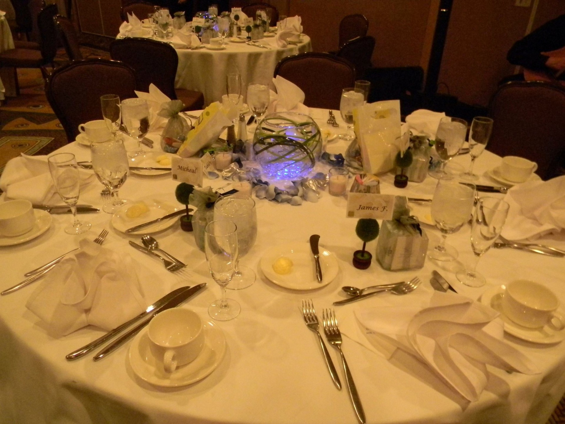 anniversary,table setup, design,