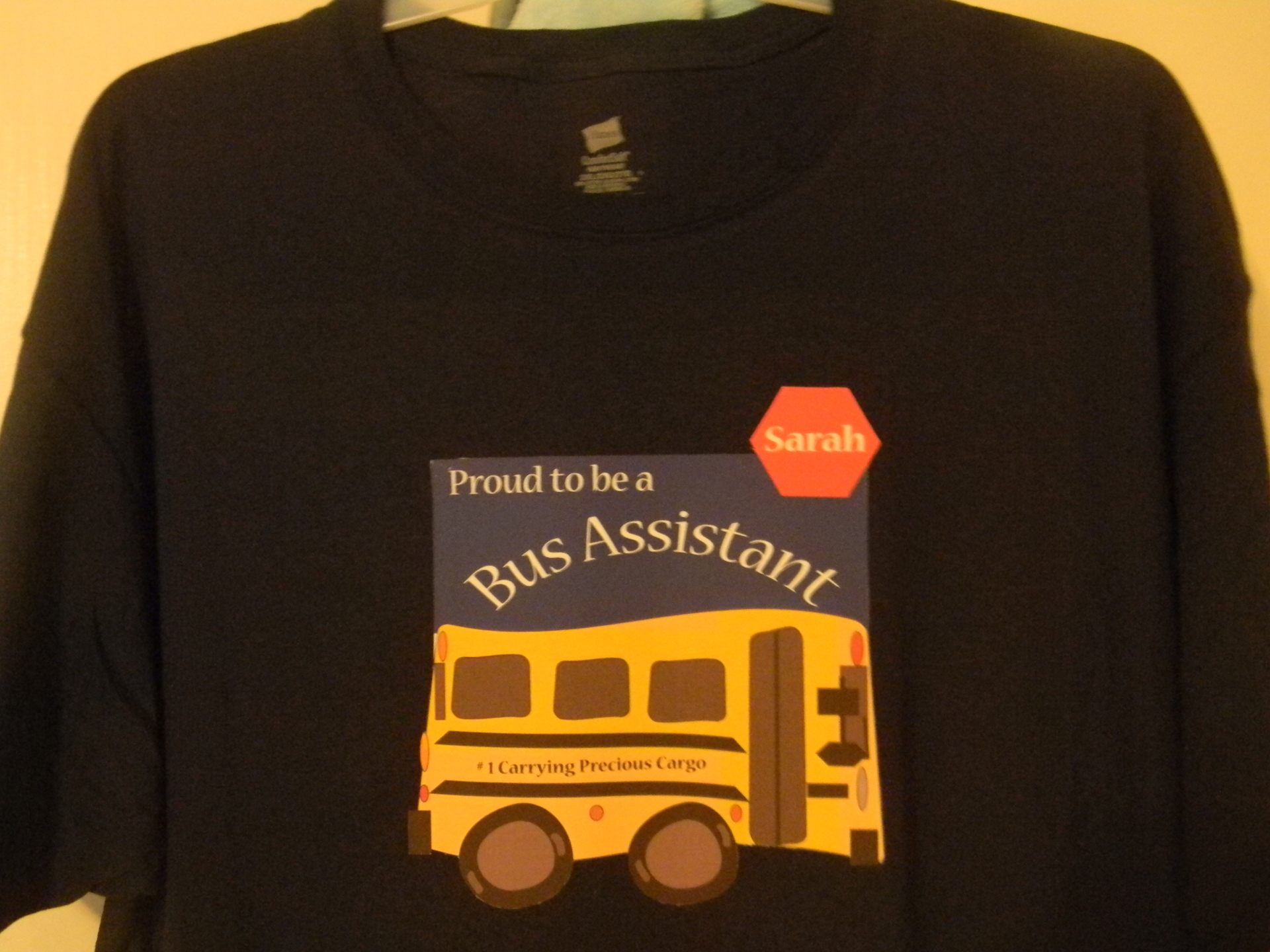 screen printing,bus driver,personalize