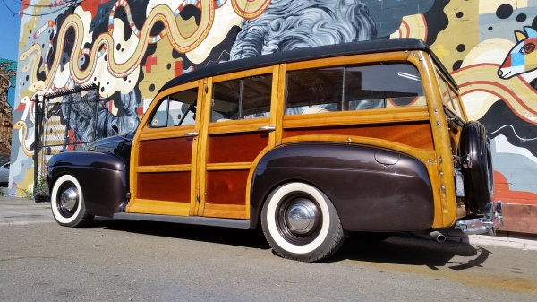 ford woody, woodie, 41 ford