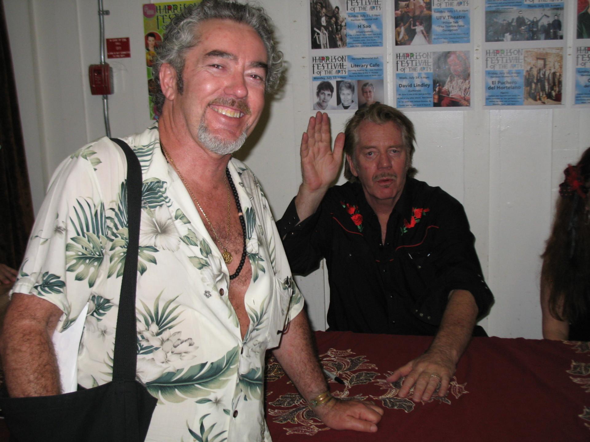 With Dan Hicks, Harrison Festival.