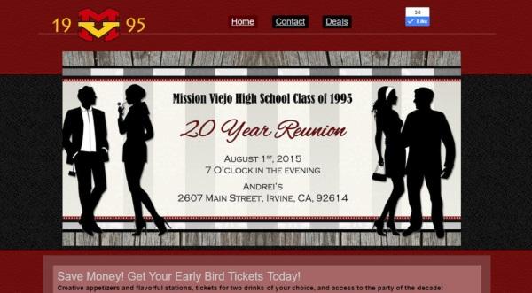High School Reunion Site