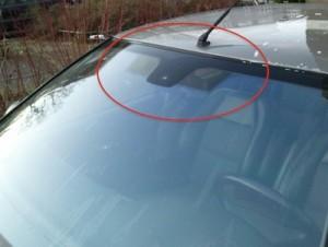 Peugeot 406 Windscreen infrared coating