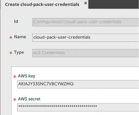 05. deployt create aws credentials