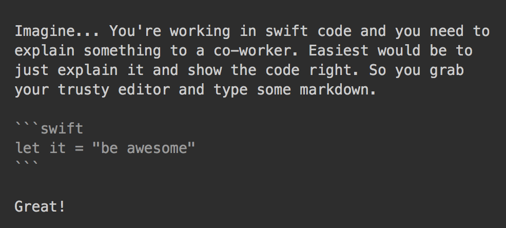 swift-markdown