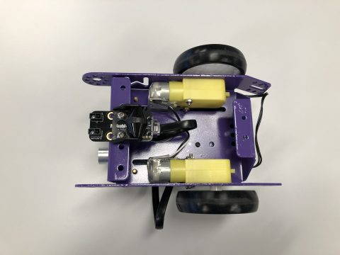 mBot robot bottom view