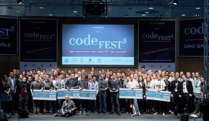 Largest hackathon ever held in automotive industry
