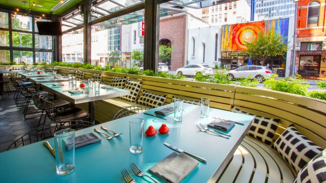 Downtownu0027s Layout Doesnu0027t Always Make For Great Patio Spaces, But The  Indoor/outdoor Setup At This Italian Inspired Eatery Inside The Joule  Offers All The ...