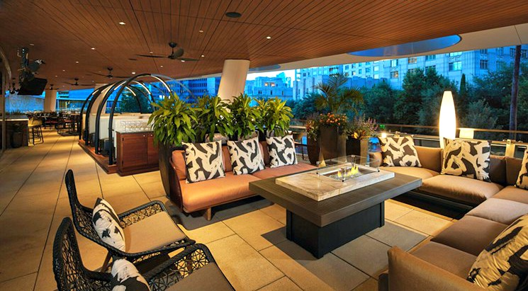 The View: The Ritz Carlton Just Across The Street And The Dallas And Uptown  Skylines Only Add To The Swank Vibe At The High End Uptown Flagship For  This ...