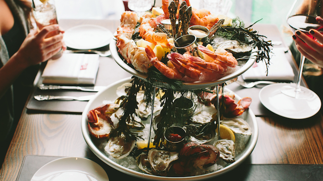 Image result for alcove boston shellfish tower