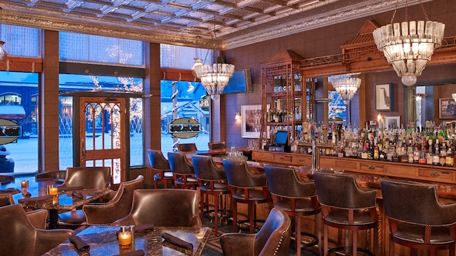 J Bar The At Hotel Jerome Plays Host To A Capital S Scene Amid Gorgeous Wild West Decor Property Was Built In 1889