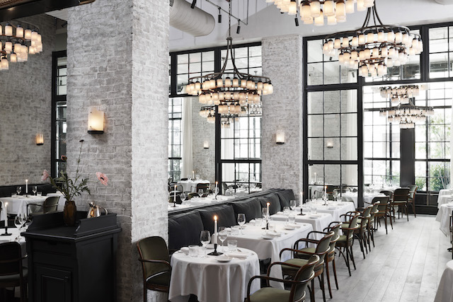 Le Coucou This Soho Stunner Offers Takes On French Fare Within A Gorgeous Roman And Williams Designed E The Old School Glamour Is Achieved With
