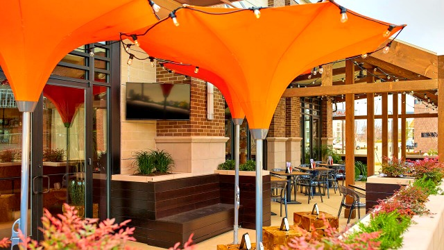 Superieur Debuting This Year, The 36 Seat Patio At This Southlake Thai Vietnamese  Restaurant Features A Douglas Fir Trellis That Extends From The Main Dining  Room ...