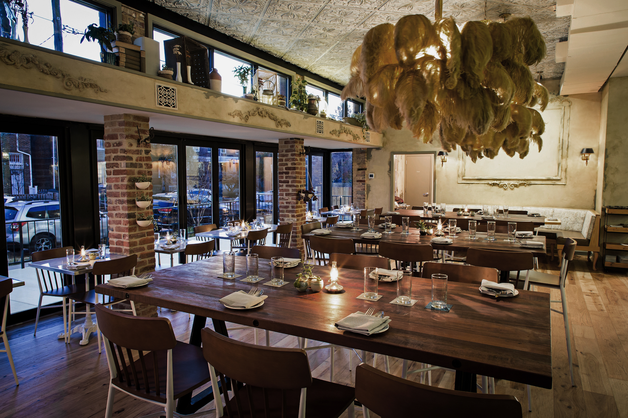 The Coziest Restaurants In DC Zagat - Table restaurant dc