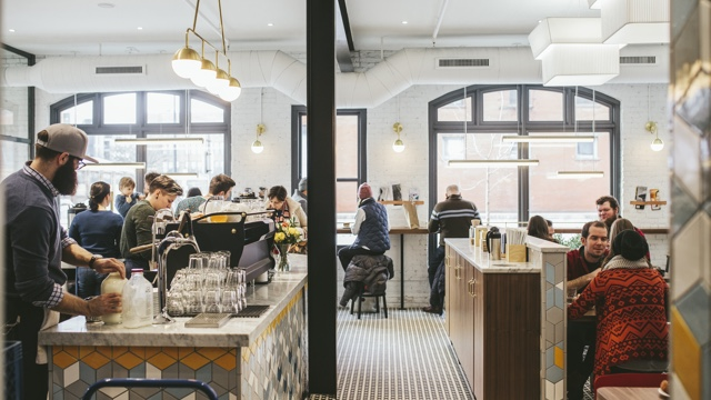 Set In The Increasingly Hopping North Loop Area Bachelor Farmer Cafe Is A More Casual Counter Service Entry From Eric Dayton Owner Of