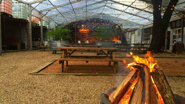 The Foundry Fire Pits Arenu0027t Enough At This West Dallas Favorite, Known For  Its Massive Outdoor Space. To Keep The Elements Out And Keep People Happy,  ...