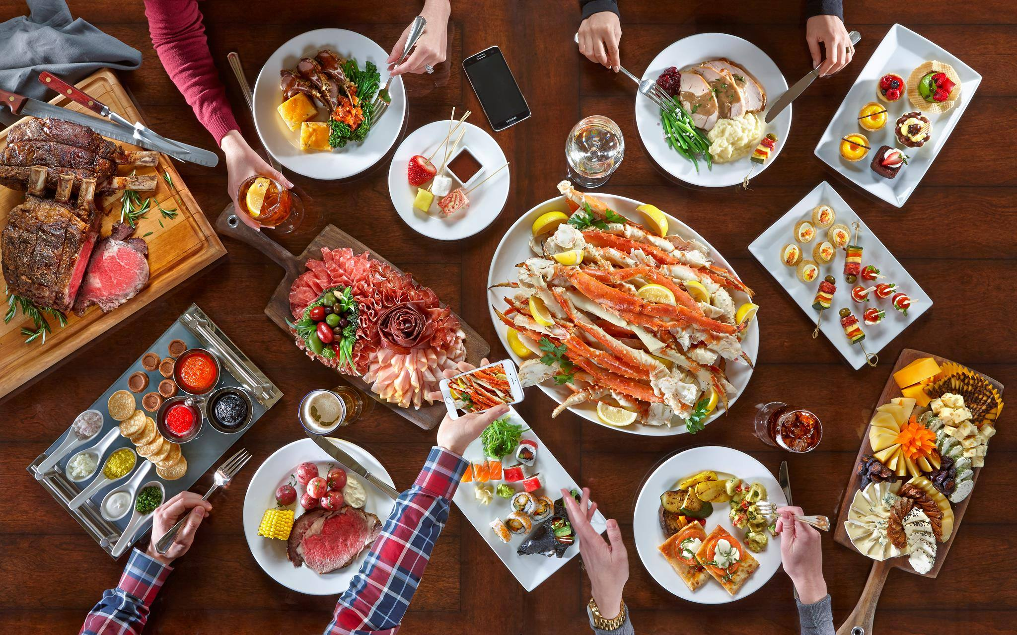 12 Must-Try Buffets for Adventurous Food Lovers - Zagat