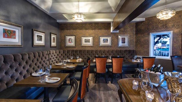 For A Lovely Intimate Dinner In Solvang This Pretty Dining Room At The Recently Renovated Mirabelle Inn Features Contemporary California Cuisine With