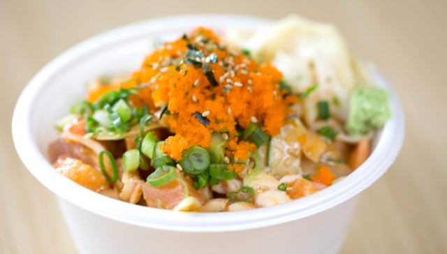 Pokinometry Embly Line Poke Is Nothing New These Days But This Anaheim Outfits Says It Was The First To Serve Hawaiian Staple Way On