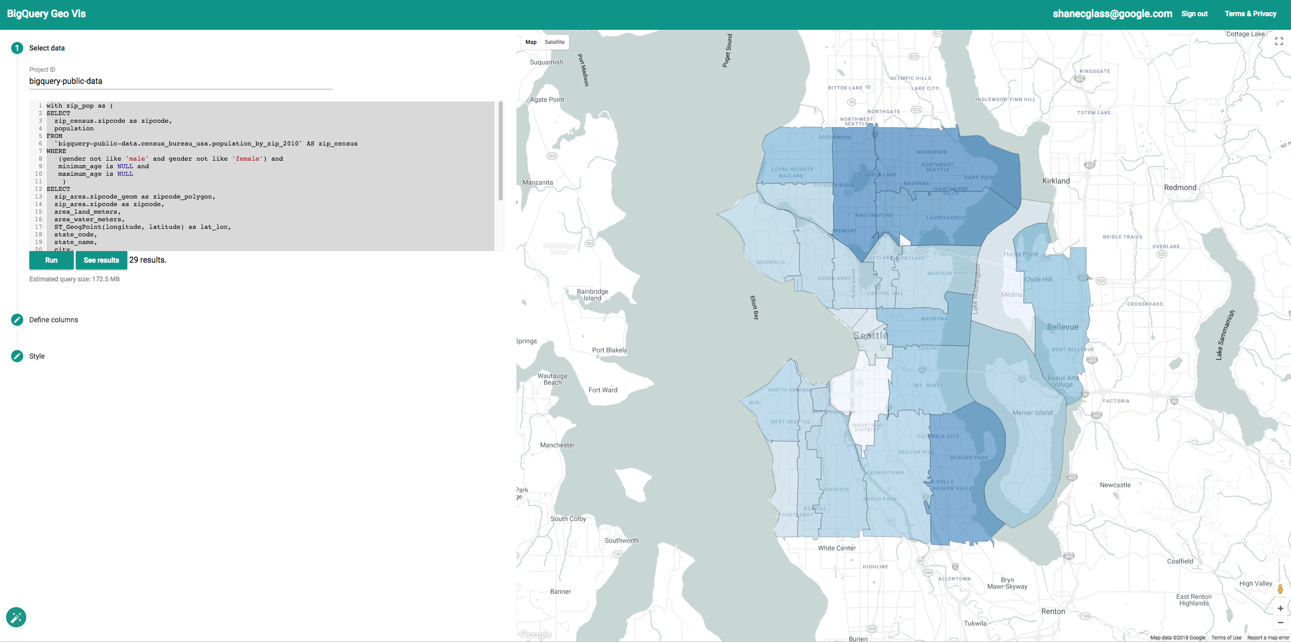 us census data by zip code