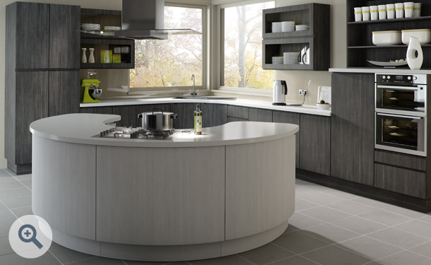 Avola Grey and Avola White kitchen picture