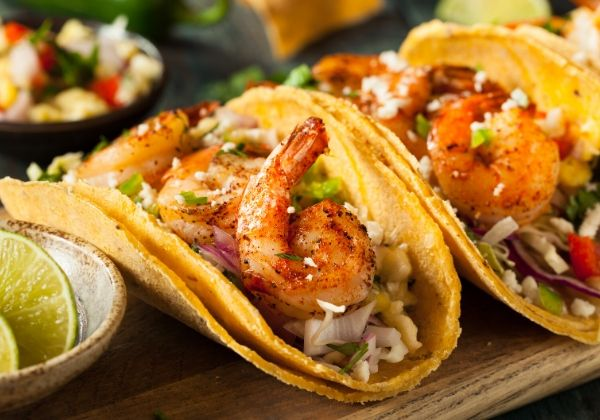 Shrimp Tacos Make for a Heart-Healthy Break From Boring Dinners