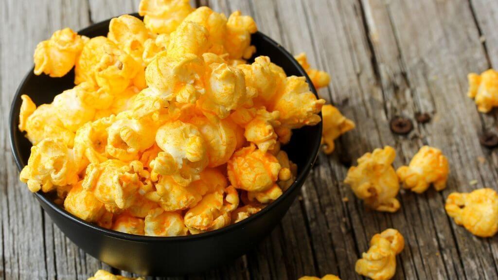 Curcumin popcorn