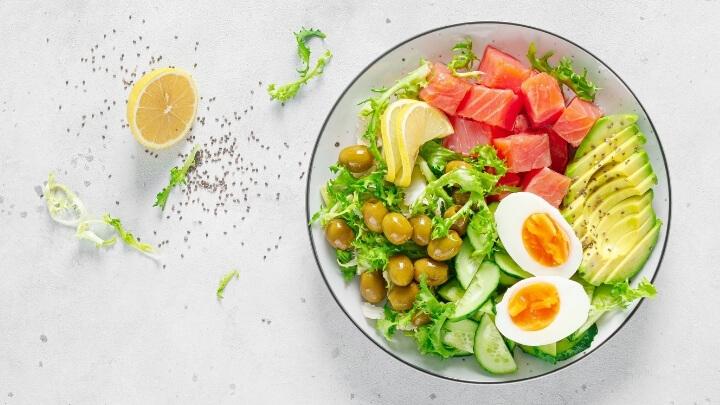 A ketogenic salad
