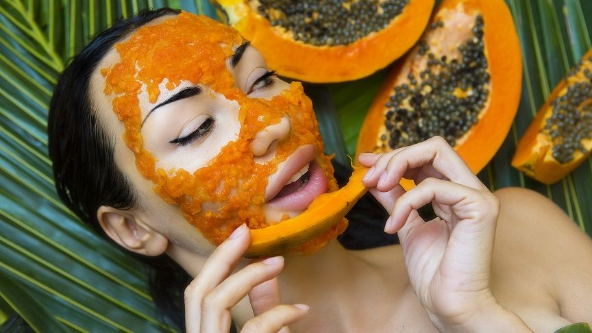 Papaya seeds cures skin problems