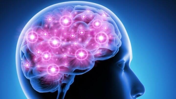 Brain action illustration