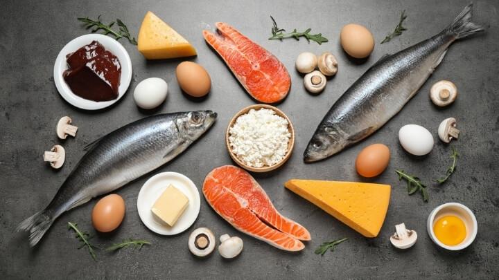 Food rich in vitamin K