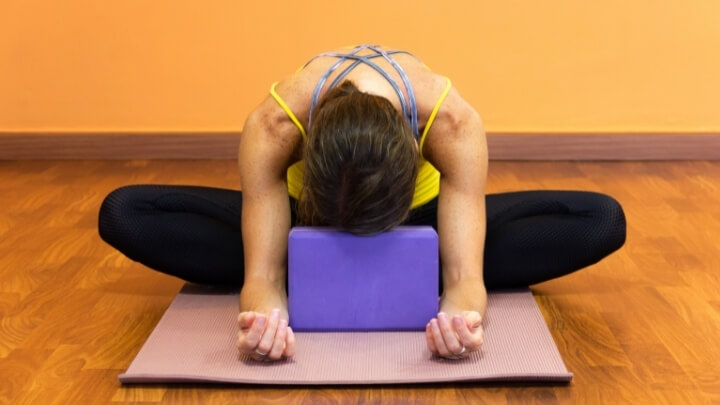 Butterfly Pose in yoga