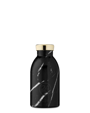 Black Marble Reusable Insulated Stainless Steel Bottle