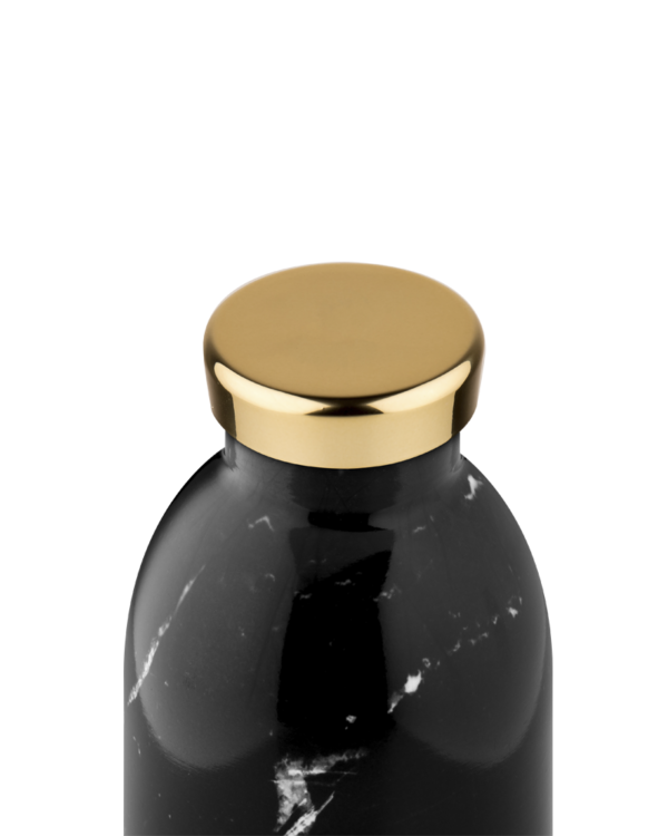 Black Marble Reusable Insulated Stainless Steel Water Bottle