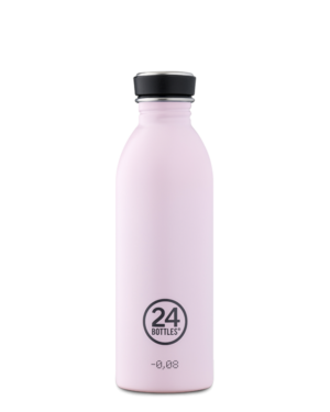 Candy Pink Reusable Stainless Steel Water Bottle