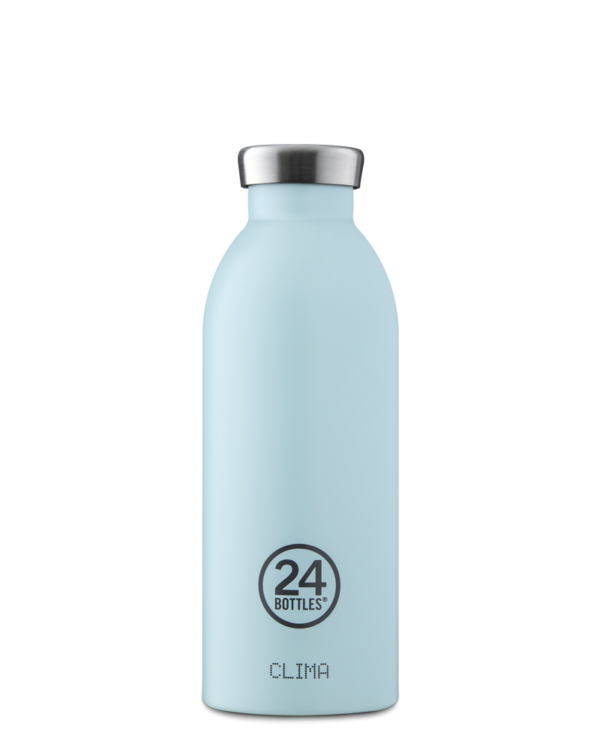 Cloud Blue Reusable Insulated Stainless Steel Bottle