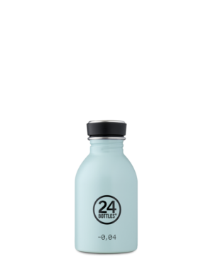 Cloud Blue Reusable Stainless Steel Lightweight Bottle