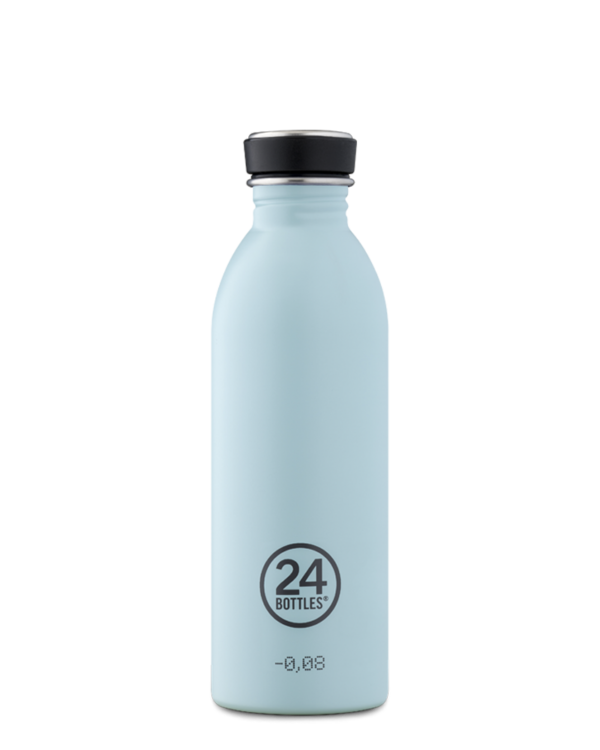 Cloud Blue Stainless Steel Water Bottle