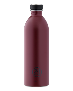Country Red Stainless Steel Water Bottle