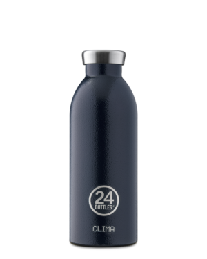 Deep Blue Reusable Insulated Water Bottle