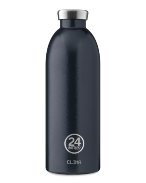 Deep Blue Reusable Insulated Stainless Steel Bottle
