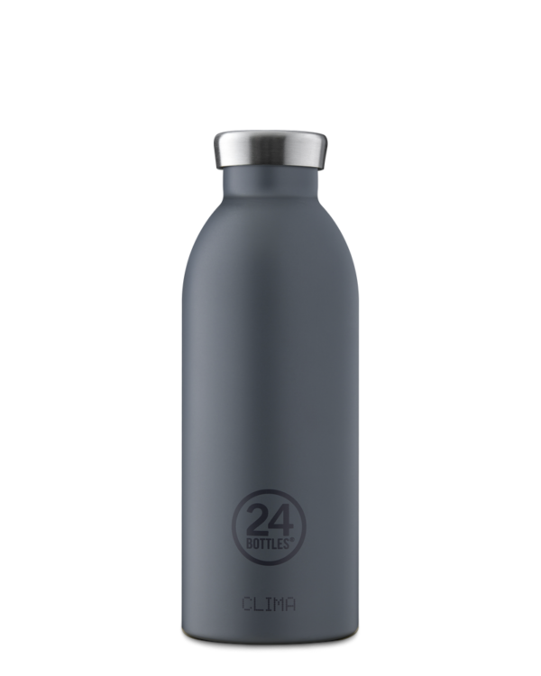Formal Grey Insulated Stainless Steel Water Bottle