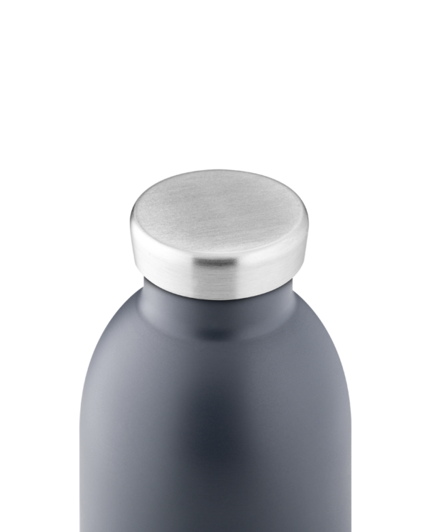 Formal Grey Reusable Stainless Steel Bottle