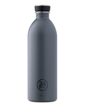 Formal Grey Reusable Stainless Steel Water Bottle