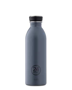 Formal Grey Reusable Lightweight Water Bottle
