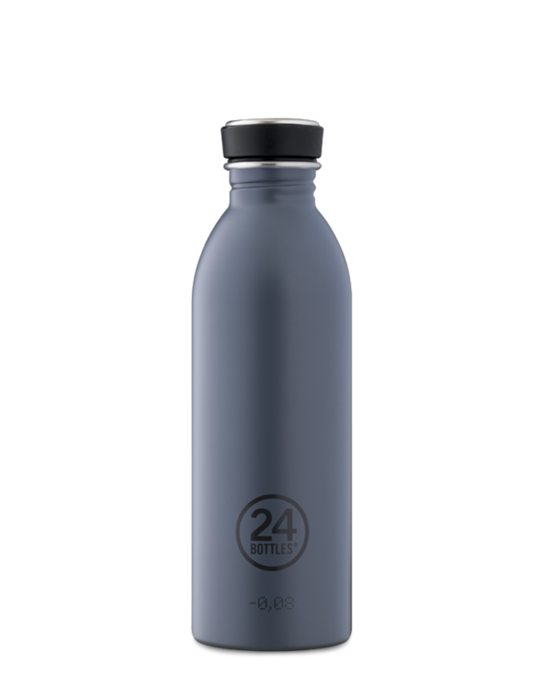 Formal Grey Reusable Lightweight Water Bottle
